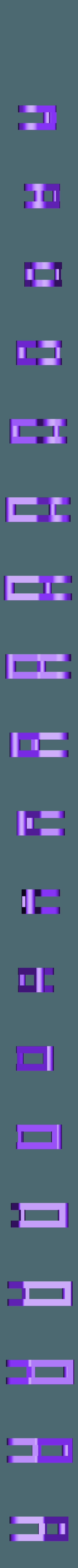 Hook.stl Download free STL file Hook Keeper for fishing rod • Design to 3D print, Domi1988