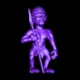 Africa_3.stl Download free STL file African statue • 3D printer design, stl3dmodel