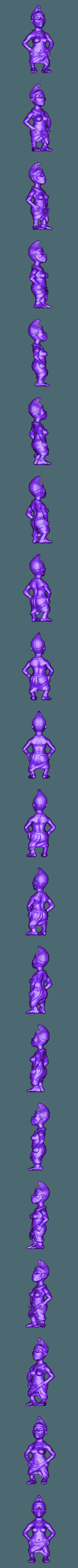 Africa_4.stl Download free STL file African statue • 3D printer design, stl3dmodel