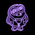 minion completo 1.STL Download STL file Minions cookie cutter set • 3D printable object, davidruizo