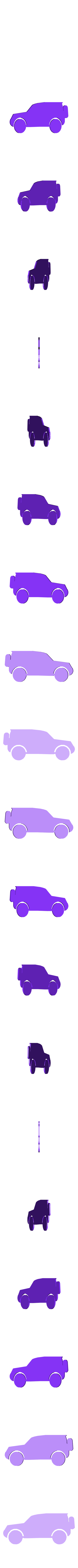 voiture.stl Download STL file mouse hole and these accessories • 3D printer model, catf3d