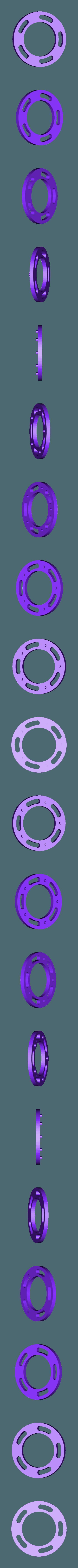 Slotted Disc, Iris Pendant.STL Télécharger fichier STL gratuit Pendentif Iris • Design pour impression 3D, potentprintables
