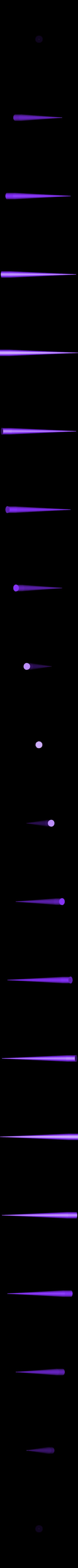 spike.stl Download STL file robocop hand with stand / mano de robocop con stand • 3D printer design, MLBdesign