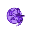 Adepte de Soraia.stl Download STL file Soraia's Adept (28mm miniature) • 3D print template, Zaeius