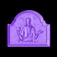 418. Jesus.stl Télécharger fichier STL gratuit Jésus • Modèle pour imprimante 3D, stl3dmodel