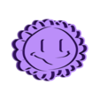 PvsZ Girasol.stl Download STL file Plants vs Zombies Sunflower cookie cutter • 3D print template, Chapu
