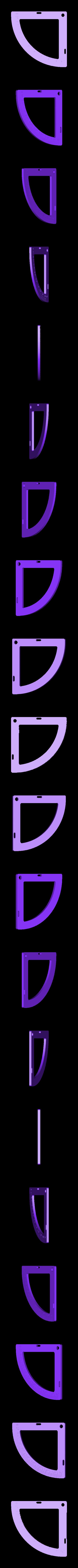 Quadrant_base.stl Download free STL file Quadrant (Sexstant predecessor) - Celestial navigation - NO Supports • 3D printing design, Mirketto