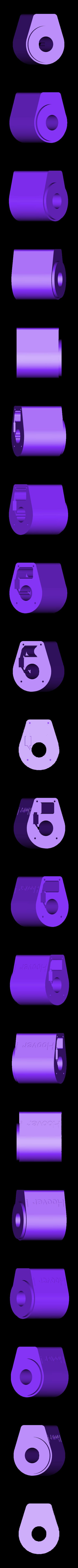 Motor_housing.stl Télécharger fichier STL gratuit Aspirateur portatif • Plan pour imprimante 3D, Mirketto