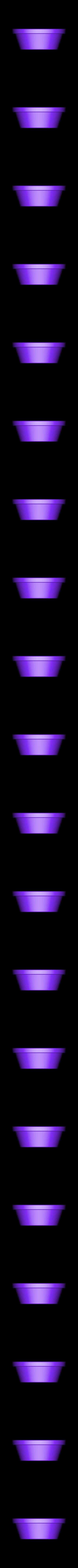short_pot.stl Download free STL file Small potted succulents • 3D printing model, tone001