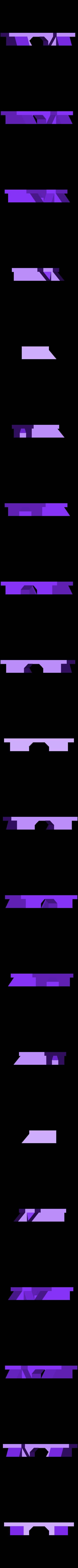 Wall_Organizer_Double_Stripes_-_Cleat.stl Télécharger fichier STL gratuit Organisateur mural • Design pour imprimante 3D, 3DBROOKLYN