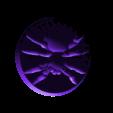 SmallSpider.stl Download free STL file Small Spider • 3D printing template, daandruff