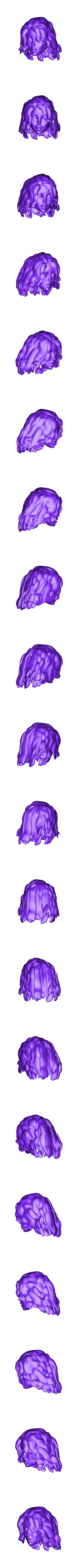 head and hair4 NFB.stl Download free STL file We are the Law- Judge Anderson Torso Free Model 5 – by SPARX • 3D printing template, SparxBM