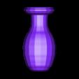 Vaso2.stl Download free STL file Beautiful  Vase • 3D printing template, CamiSantoro