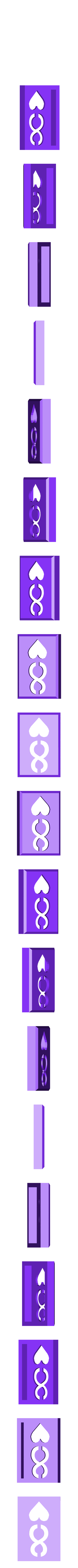 BlockHearts08.stl Download STL file Playing Card Tiles • Object to 3D print, Jinja