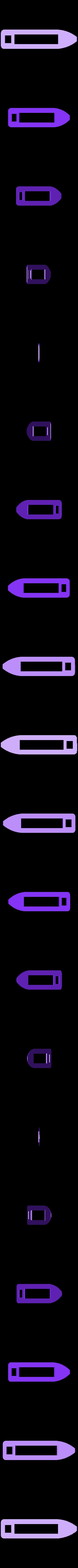 paluba.stl Download STL file MONAKO RC MODEL BOAT TUG • 3D printable template, maca-artwork