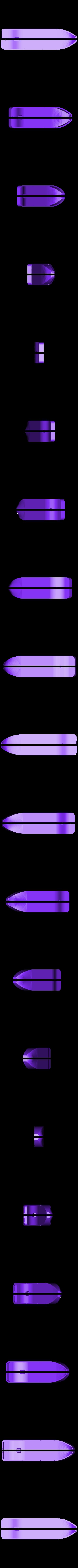 TRUPsoftLvetsi dira pro hridel.stl Download STL file MONAKO RC MODEL BOAT TUG • 3D printable template, maca-artwork