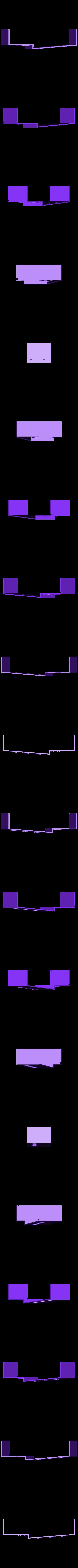 nastavba spodni P.stl Download STL file MONAKO RC MODEL BOAT TUG • 3D printable template, maca-artwork