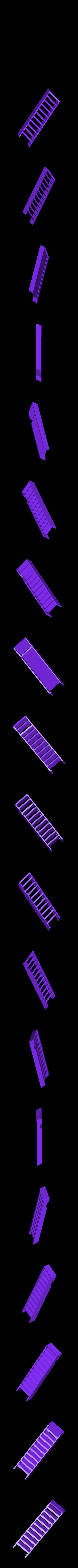 schodyL.stl Download STL file MONAKO RC MODEL BOAT TUG • 3D printable template, maca-artwork