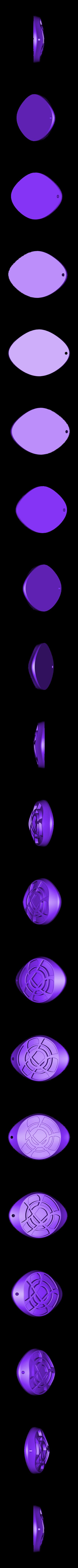 amulette.stl Download STL file pendant amulet • 3D printer design, david39