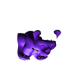 taiwan-bear-01.stl Download free STL file Taiwan black bear  • 3D printing design, orangeteacher