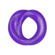 distorted_torus_grid_80.stl Download free STL file Distorted torus (hexagonal grid) • Design to 3D print, zeycus