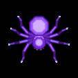 TortureSpider.stl Download free STL file Torture Spider, 3D-printer torture test - overhangs - cooling - retraction • 3D printing design, printingotb