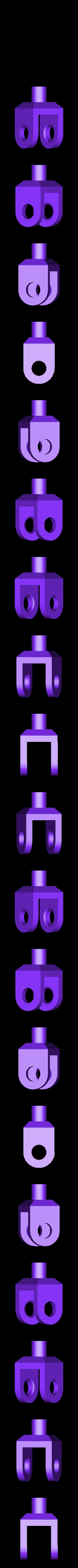 pin_clip.stl Télécharger fichier STL gratuit Jeu de construction ChainClip • Modèle à imprimer en 3D, ferjerez3d