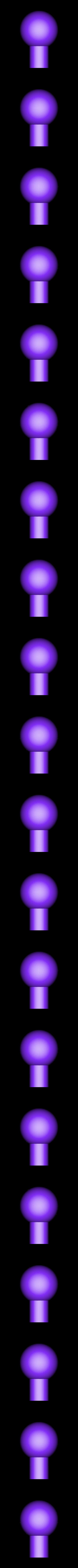 pin_ball.stl Télécharger fichier STL gratuit Jeu de construction ChainClip • Modèle à imprimer en 3D, ferjerez3d