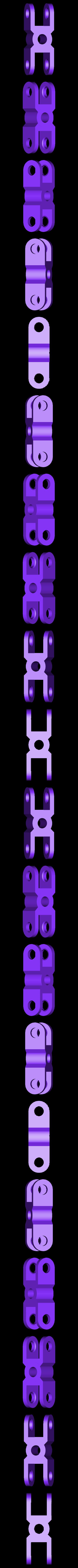 clip_x2_hole.stl Télécharger fichier STL gratuit Jeu de construction ChainClip • Modèle à imprimer en 3D, ferjerez3d