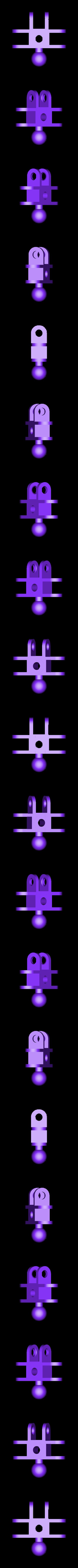 clip_x3_ball_x1.stl Télécharger fichier STL gratuit Jeu de construction ChainClip • Modèle à imprimer en 3D, ferjerez3d