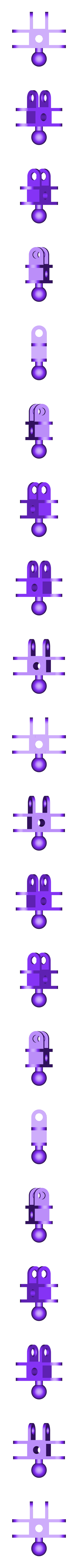 clip_x3_ball_x1.stl Download free STL file ChainClip Construction Set • 3D print template, ferjerez3d