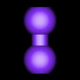 ball_x2.stl Download free STL file ChainClip Construction Set • 3D print template, ferjerez3d