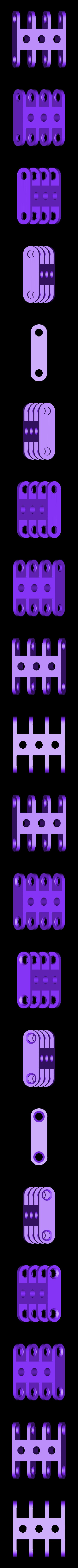 clip_x2_triple.stl Télécharger fichier STL gratuit Jeu de construction ChainClip • Modèle à imprimer en 3D, ferjerez3d