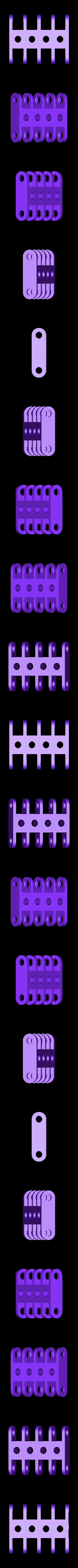 clip_x2_quadruple.stl Télécharger fichier STL gratuit Jeu de construction ChainClip • Modèle à imprimer en 3D, ferjerez3d
