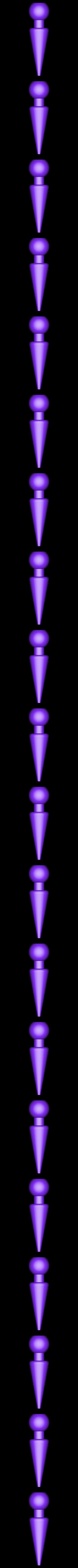 ball_spike.stl Download free STL file ChainClip. Robocreatures parts • 3D print object, ferjerez3d