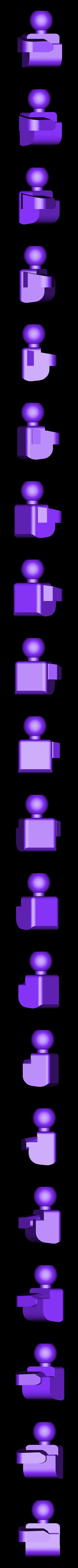 hand_right.stl Download free STL file ChainClip. Robocreatures parts • 3D print object, ferjerez3d