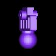 Ankleleft3.stl Download STL file KO TFC Uranos Upgrade Kit IDW Ver • 3D printer object, Toymakr3D