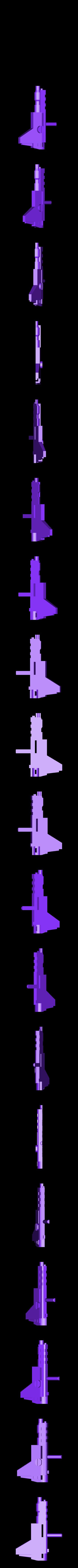 Gun4roundhandle.stl Download STL file KO TFC Uranos Upgrade Kit IDW Ver • 3D printer object, Toymakr3D