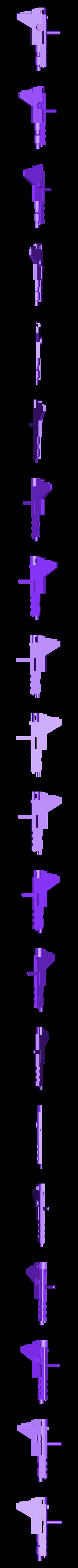 Gun5roundhandle.stl Download STL file KO TFC Uranos Upgrade Kit IDW Ver • 3D printer object, Toymakr3D