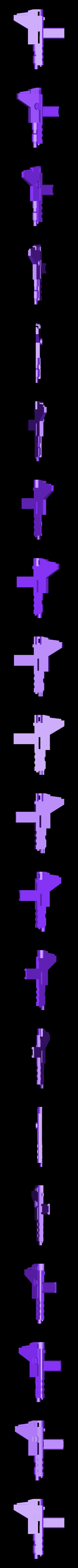 Gun5squarehandle.stl Download STL file KO TFC Uranos Upgrade Kit IDW Ver • 3D printer object, Toymakr3D