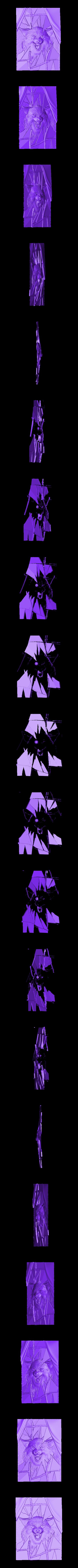 902. Panno.stl Télécharger fichier STL gratuit Loup • Modèle pour impression 3D, stl3dmodel