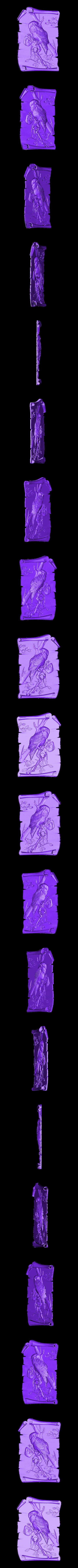 908. Panno.stl Download free STL file Owl • 3D printer design, stl3dmodel