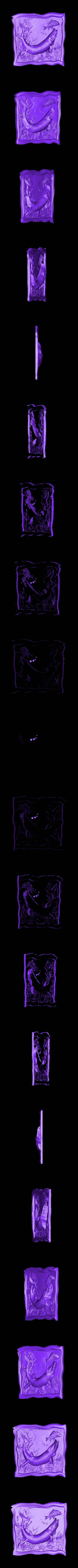 909. Panno.stl Télécharger fichier STL gratuit Poisson • Plan à imprimer en 3D, stl3dmodel
