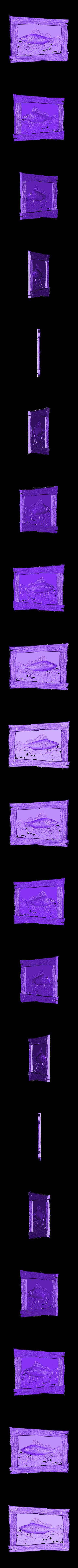 911. Panno.stl Télécharger fichier STL gratuit Poisson • Plan à imprimer en 3D, stl3dmodel