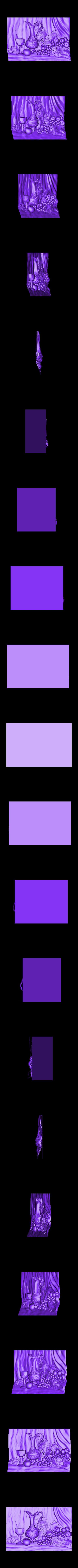 931_Panno.stl Download free STL file Grape • 3D print object, stl3dmodel