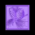 938. Panno.stl Download free STL file Pine con • 3D printable design, stl3dmodel