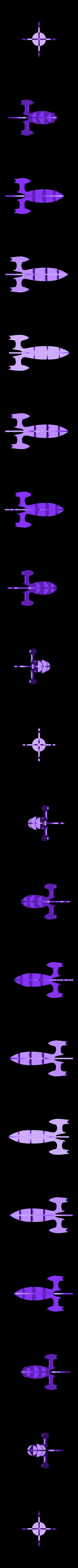 rocket_assembled.stl Download free STL file Sliced rocket • 3D printer object, ferjerez3d