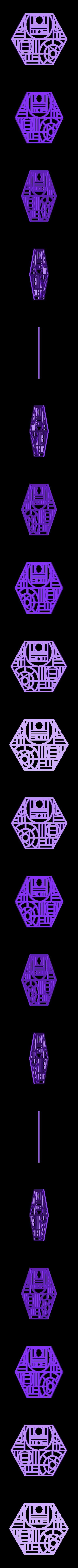 hexagon.stl Download free STL file Subdivided Surfaces • 3D printing design, ferjerez3d