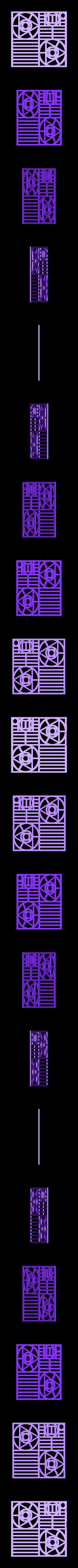 80x80_1.stl Download free STL file Subdivided Surfaces • 3D printing design, ferjerez3d