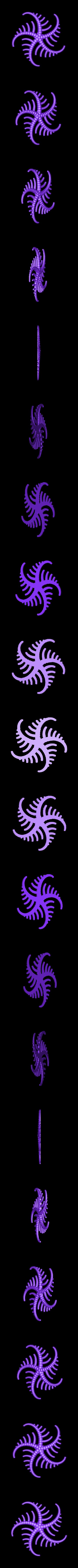 5_tentacles.stl Download free STL file Tentacle generator • 3D print object, ferjerez3d